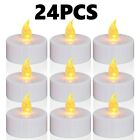 24/48/72/96PC Flameless Votive Candles Battery Operated Flickering LED Tea Light