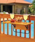 The Lakeside Collection Folding Deck Table -
