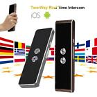 30 Language Smart Translator Wireless Bluetooth Two-Way Real Time Voice Trans