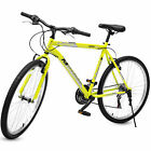 "Merax 26""  Mountain Bike 18-Speed  Front Suspension Shimano Hybrid Men's Bicycle"