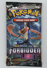 Pokemon Sun and Moon Forbidden Light Booster Pack Sealed Trading Cards NEW