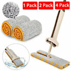 360 Degrees Lazy Double-Sided Flat Mop Pad Hands-Free Washable Cleaning Tool Rap