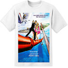 James Bond View To A Kill Movie Poster T Shirt (S-3XL) Retro 007 Roger Moore $25.3 AUD on eBay