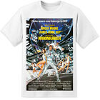 James Bond Moonraker Movie Poster T Shirt (S-3XL) Retro 007 Roger Moore $25.16 CAD on eBay