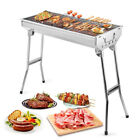 Внешний вид - Barbecue Grill Stove Shish Kabob Foldable Stainless Steel BBQ Patio Camping