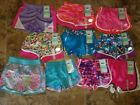 Nwt Girls Skechers Active Shorts Athletic Pink Blue Purple G