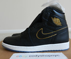 DS Nike Air Jordan 1 Retro High OG Black Gold All Star 2017 LA los 555088-031