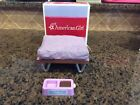 Amercian Girl Doll Sleep and Snack Pet Set Accessory Bed In Box