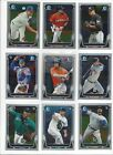 2014 BOWMAN CHROME BASE #'s 1-220 ( STARS, ROOKIE RC'S ) - WHO DO YOU NEED!!!