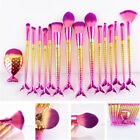 2018 Makeup Brushes Mermaid Brush Set Pro Contour Foundation Eyeshadow Brushes