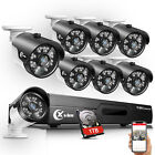 XVIM 1080P HDMI HD-TVI 8CH / 4CH DVR IR CUT CCTV Security Ca
