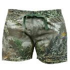 Realtree Girl Ladies Camo Shorts, Camouflage Lounge Max-1