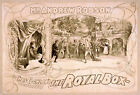 Photo Print Vintage Poster: Stage Theatre Flyer Andrew Robson The Royal Box 01