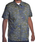 Guess Mens Japanese Print Slim Fit Button Up Shirt Choose Size