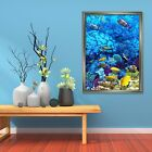 3d Sea Fish 445 Fake Framed Poster Home Decor Print Painting Unique Art