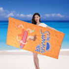 Summer Fashion Animal Letter Printed Polyester Beach Towel Fast Drying 70*150cm