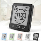 Waterproof Shower Clock Temperature Digital Wall Countdown Bathroom Timer SIJ8