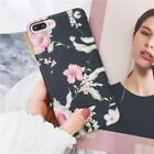 For Samsung Galaxy S9 /S9+ Flower Case for Girls Women,Floral Vintage Chic Cover