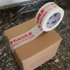 """1-72 Rolls 2x110 """"Fragile Handle with Care"""" Security Carton Packing Tape 2"""""""