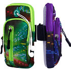Dazzle Colour Bag Sports Armband Pouch Gym Running Jogging Arm Holder For iPhone
