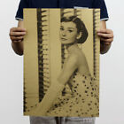 Nostalgic Kraft Paper Poster Room Wall Decor Living Room Bedroom Retro Playbill