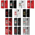 LIVERPOOL FC LFC CREST 1 PU LEATHER BOOK WALLET CASE COVER FOR SAMSUNG PHONES 1