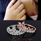 New Ladies Women Rings Dress Fashion Vintage Cluster Women Wedding Band Thumb