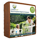 Peat Free Organic Coir Compost - 5kg Block, Expands 70 Litres of Premium Compost