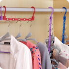 1-10X Multi-function Home Hanger Holder Hook Closet Clothes Rotating Organizer
