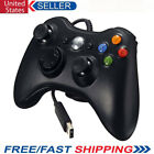 Black Wired USB Game Pad Controller Joystick For Microsoft Xbox 360 PC Windows