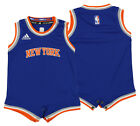 Adidas NBA Infant New York Knicks Replica Road Creeper Jersey, Blue