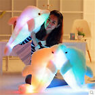 LED Light Dolphin Stuffed Animals Plush Toy Pillow Kids Xmas GIFT