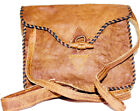 Himalayan Hand Woven Yak Raw Authentic Leather Each Bag has Unique Color Choices