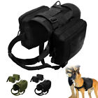 Large Breed Tactical Dog Harness with 3 Pouches K9 Molle German Shepherd Vest