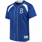 Majestic Brooklyn Dodgers Royal/White Cooperstown Collection Peak Power Fashion
