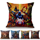 spiderman pillow - Super Heroes Superman Iron man Spiderman Sofa Pillow Case Cover