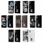 OFFICIAL THE WHO BAND ART LEATHER BOOK WALLET CASE COVER FOR APPLE iPHONE PHONES
