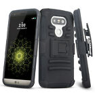 New for LG G5 H858 H830 VS987 Rubber Hard Armor Hybrid Impact Rugged Case Cover