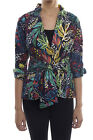 Joseph Ribkoff Navy/Multi Floral Women's Stretch Jacket  182633 New Season