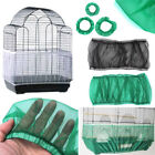 M L Seed Catcher Guard Mesh Bird Cage Case Cover Skirt Traps Clean Cage Cleaning