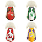 Pet Dog Laker Bulls Basketball Jersey Team Vest Clothes James Puppy Sport Shirt