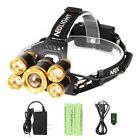 Headlamp, Neolight Super Bright 5 LED High Lumen Rechargeable Zoomable