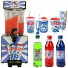 Slush Puppie Machine Syrup Cup Frozen Ice Drink Maker Sunny Slushy Slushies