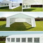 3 Sizes Party Wedding Tent Gazebo Pavilion White Marquee Canopy Outdoor Event US