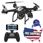 FPV RC Drone Camera Charged Video GPS Return Home Quadcopter Adjustable Wide Angle