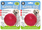 Pet Qwerks Animal Sounds Babble Ball Interactive Dog Toy - 3 Sizes Available