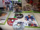 9 X Box 360 Games Nascar, Transformers, Call of Duty Ghost, and more