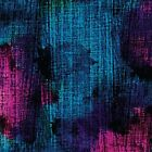 Turquoise, Fuchsia, Black, Splashes, Patio Splash, Kanvas, Benartex, By YARD