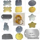 PET DOG CAT ID TAG & TEXT & SECURE ITAG RUBIT CLIP - QUICK SWITCH TAG TO COLLAR