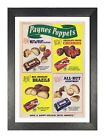 Paynes Poppets - Classic Vintage Photo Retro Print Picture Nuts Chocolate Poster